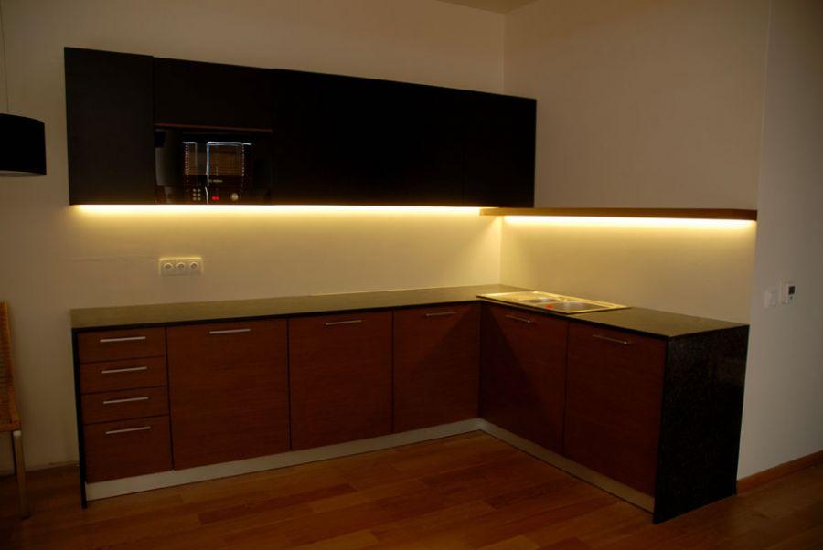 Oswietlenie ledowe w kuchni